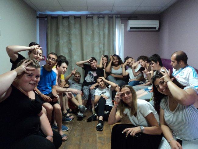 """Rencontre avec le foyer de vie """"les Cyprès"""" à Villelaure-Classe de Seconde"""