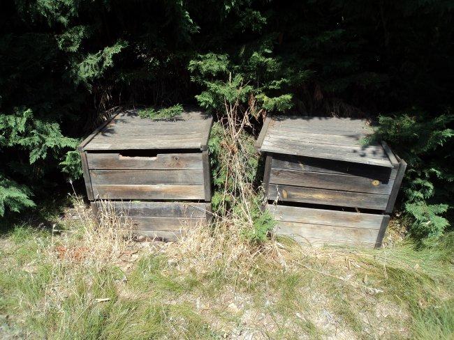 Nos bacs à compost