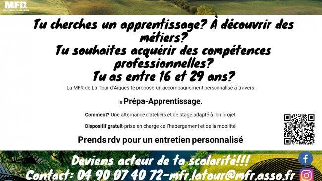 Affiche Prépa-Apprentissage